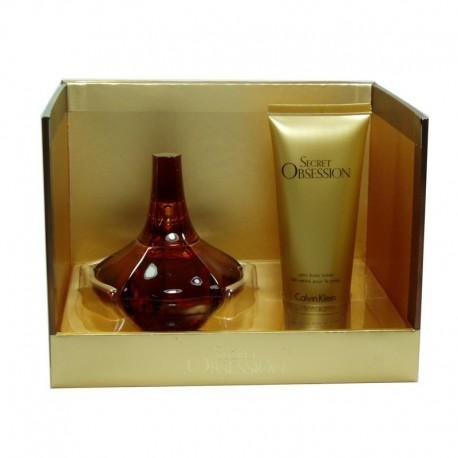 Calvin Klein Secret Obsession Estuche edp 100 ml spray + Body Lotion 100 ml