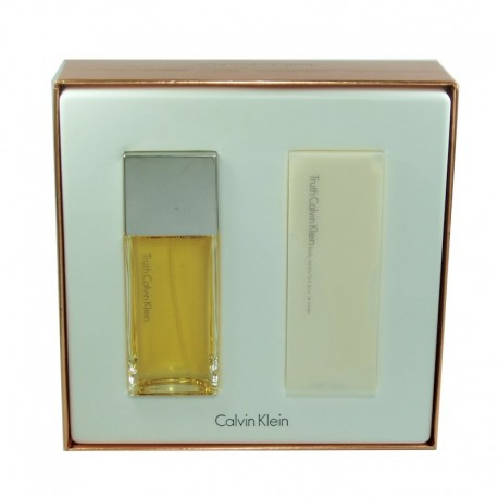 Calvin Klein Truth Woman Estuche edp 50 ml spray + Body Lotion 100 ml