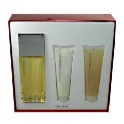 Calvin Klein Truth Woman Estuche edp 100 ml spray + Body Lotion 100 ml + Gel de Baño 100 ml