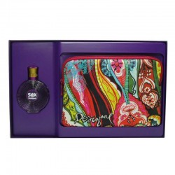 Desigual Sex Estuche edt 50 ml spray + Neceser de Tela