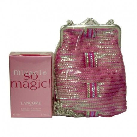 Lancome Miracle So Magic Estuche edp 50 ml spray + Bolso
