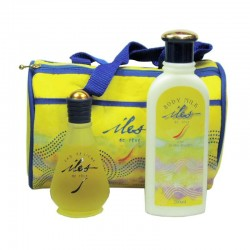 Iles de Reve Eau Fraiche Estuche 100 ml spray + Body Lotion 200 ml + Neceser