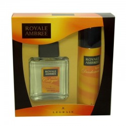 Royale Ambree Legrain eau de cologne Estuche 200 ml no spray + Desodorante 250 ml spray