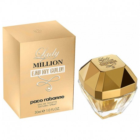 Paco Rabanne Lady Million Eau My Gold edt 30 ml spray