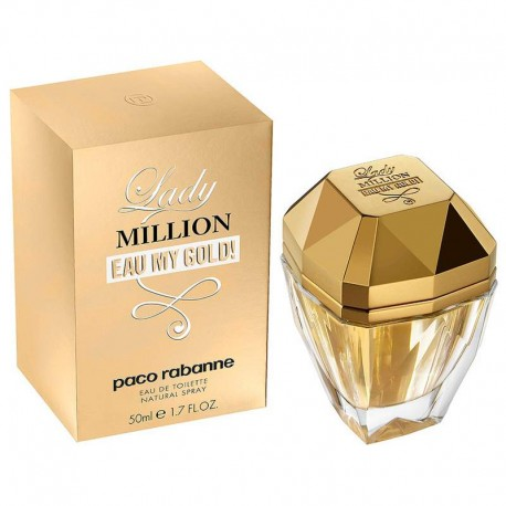 Paco Rabanne Lady Million Eau My Gold edt 50 ml spray