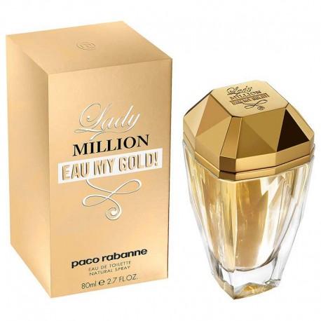 Paco Rabanne Lady Million Eau My Gold edt 80 ml spray