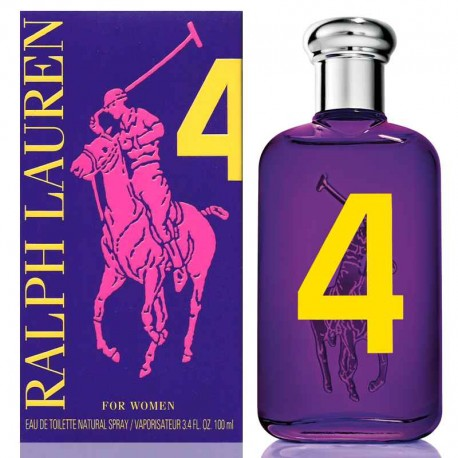 Ralph Lauren The Big Pony Women 4 edt 100 ml spray