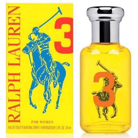 Ralph Lauren The Big Pony Women 3 edt 30 ml spray