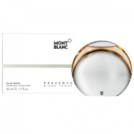 Mont Blanc Presence D´une Femme edt 50 ml spray