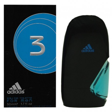Adidas 3 For Men edt 50 ml spray