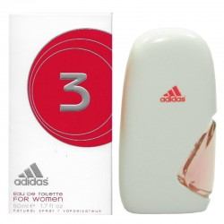 Adidas 3 For Women edt 50 ml spray