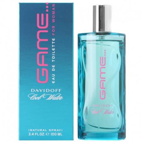 Davidoff Cool Water Game Woman edt 100 ml spray