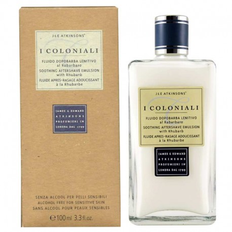 I Coloniali Atkinsons Aftershave Emulsión al Ruibarbo 100 ml