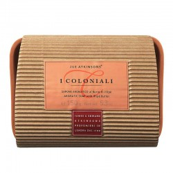 I Coloniali Atkinsons Jabón Aromático para Manos con Mantequilla de Illipé + Jabonera 150 gr