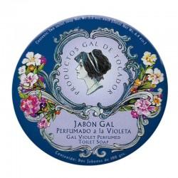 Jabón Gal Perfumado a la Violeta 2 jabones de 100 grs