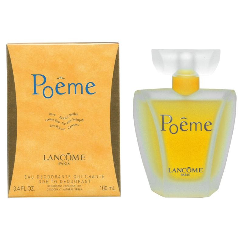 Lancome Poeme Deodorant Spray 100 Ml Perfumeria Ana