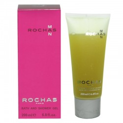 Rochas Man Bath and Shower Gel 200 ml