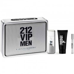 Carolina Herrera 212 VIP Men edt 100 ml spray + edt 10 ml spray + After Shave Lotion 100 ml