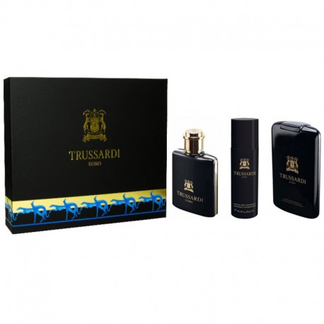 Trussardi Uomo Estuche edt 100 ml spray + Shower Gel 200 ml + Desodorante 100 ml spray