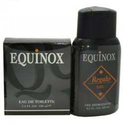 Equinox Myrurgia Estuche edt 100 ml no spray + Shower Gel 250 ml