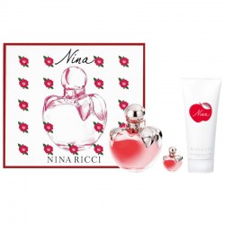Nina Ricci Nina Estuche edt 50 ml spray + Body Lotion 100 ml + Miniatura edt 4 ml
