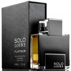 Loewe Solo Loewe Platinum edt 50 ml spray