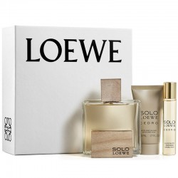 Loewe Solo Loewe Cedro Estuche edt 100 ml spray + edt 20 ml spray + After Shave Bálsamo 50 ml