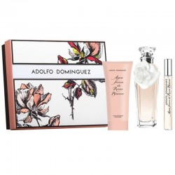 Adolfo Dominguez Agua Fresca de Rosas Blancas Estuche edt 120 ml spray + edt 10 ml spray + Body Lotion 100 ml