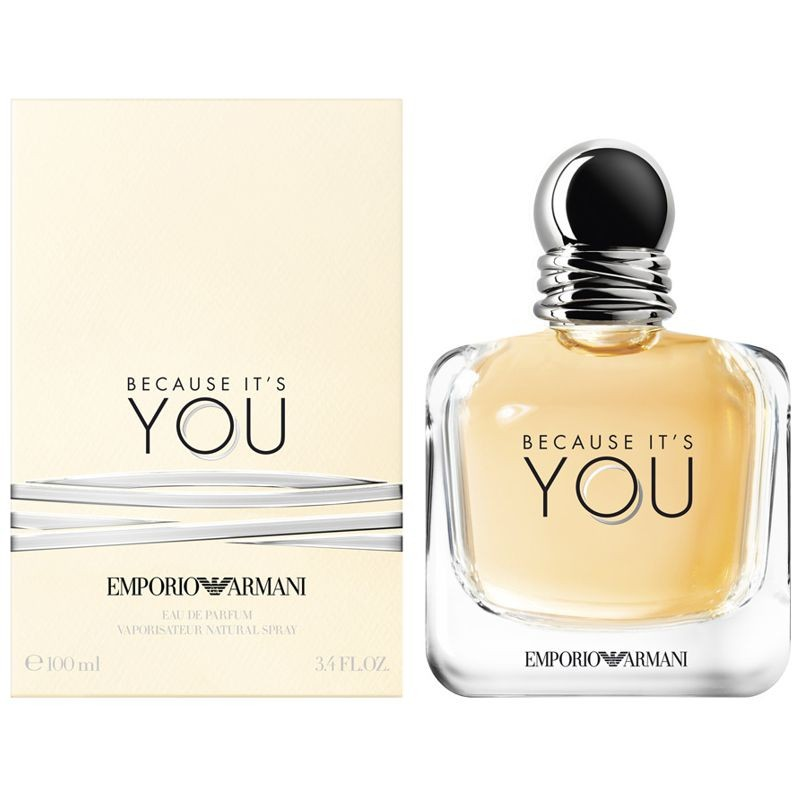 Perfumeria Because Edp Emporio Giorgio Ml Its 100 Armani Spray Ana You 6yvfgIYb7