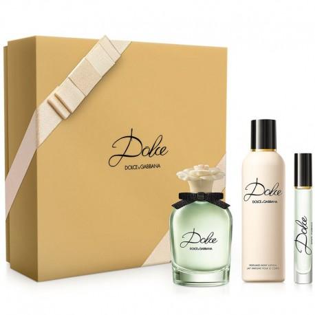 Dolce & Gabbana Dolce Estuche edp 75 ml spray + Body Lotion 100 ml + edp 7,4 ml Rollerball