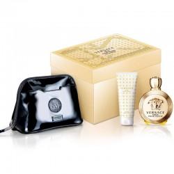 Versace Eros Pour Femme Estuche edp 100 ml spray + Body Lotion 100 ml + Bolso