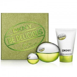 Donna Karan DKNY Be Delicious Etuche edp 100 ml spray + Body Lotion 100 ml + Miniatura edp 7 ml