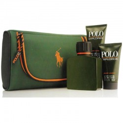 Ralph Lauren Polo Explorer Estuche edt 125 ml spray + Neceser + Shower Gel 50 ml + After Shave Gel 50 ml