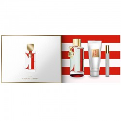 Carolina Herrera CH L´eau Estuche edt 100 ml spray + edt 10 ml spray + Body Lotion 75 ml