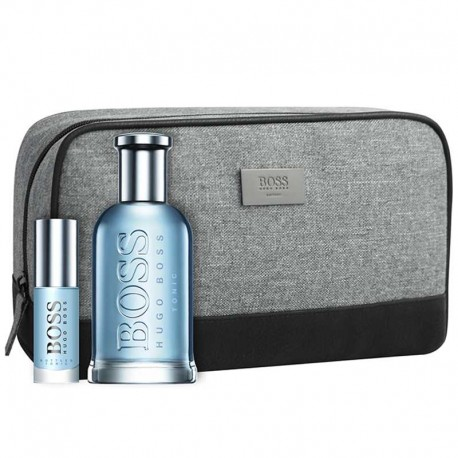 Hugo Boss Bottled Tonic Estuche edt 100 ml spray + edt 8 ml spray + Neceser