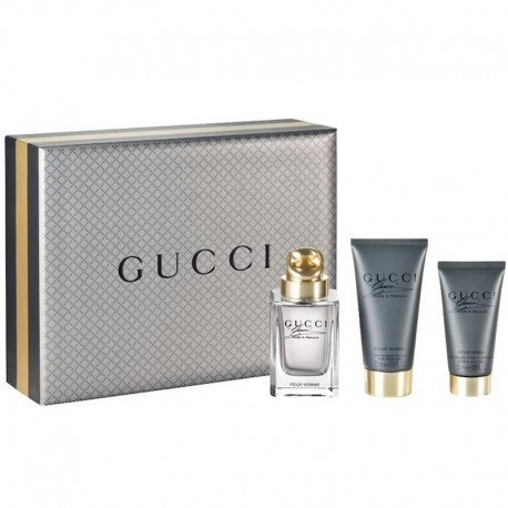 Gucci Made to Measure Estuche edt 90 ml spray + Shower Gel 50 ml + After Shave Balm 75 ml
