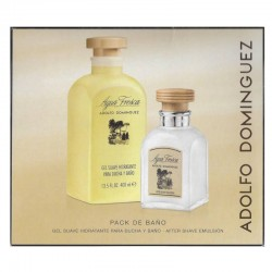 Adolfo Dominguez Agua Fresca Hombre After Shave Emulsion 120 ml + Shower Gel 400 ml
