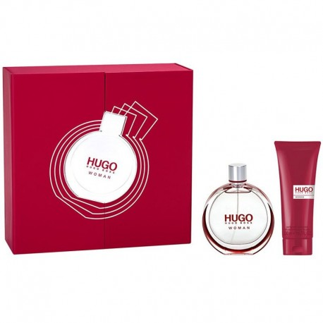 Hugo Boss Hugo Woman Estuche edp 75 ml spray + Body Lotion 200 ml