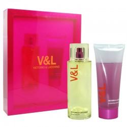 Victorio & Lucchino V&L Mujer Estuche edt 100 ml spray + Shower Gel 100 ml