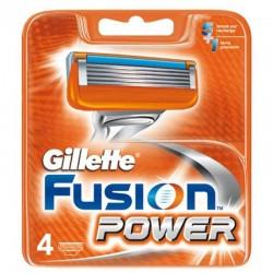 Gillette Fusion Power Recambio 4 unds