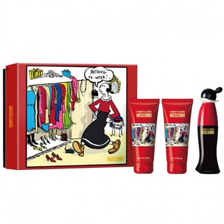 Moschino Cheap and Chic Estuche edt 50 ml spray + Body Lotion 100 ml + Shower Gel 100 ml
