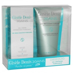 Giséle Denis 20ANS Gel Crema Hidratante Purificante 75 ml + Gel Limpiador Purificante 150 ml