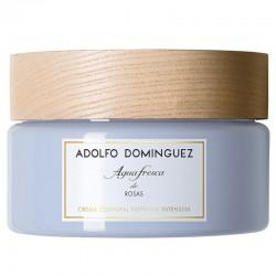 Adolfo Dominguez Agua Fresca de Rosas Crema Corporal Nutritiva Intensiva 300 ml