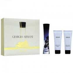 Giorgio Armani Code Pour Femme Estuche edp 50 ml spray + Body Lotion 75 ml + Gel de Ducha 75 ml