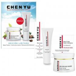 Chen Yu Délicieuse Rosée Lote Base Fluide Super-Hydratante 50 ml + Crema de Manos Manussia 75 ml