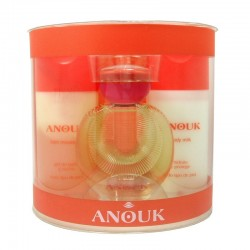 Anouk de Puig Estuche edt 100 ml no spray + Body Lotion 150 ml + Shower Gel 150 ml