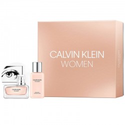 Calvin Klein Women Estuche edp 100 ml spray + Body Lotion 100 ml