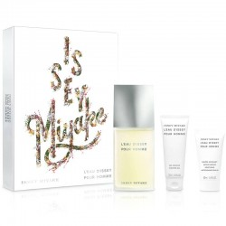 Issey Miyake L'eau d'Issey Pour Homme Estuche edt 125 ml spray + After Shave Balm 50 ml + Shower Gel 75 ml