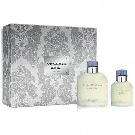 Dolce & Gabbana Light Blue Homme Estuche edt 125 ml spray + edt 40 ml spray