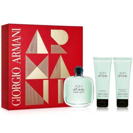 Giorgio Armani Acqua Di Gioia Estuche edp 50 ml spray + Body Lotion 75 ml + Shower Gel 75 ml